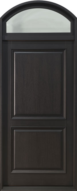 Classic Mahogany Wood Front Door - Single - DB-301PW TR CST