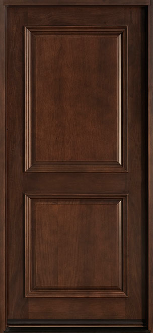 Classic Mahogany Wood Front Door - Single - DB-301 CST