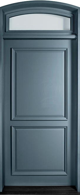 Classic Mahogany Wood Front Door - Single - DB-301 TR CST