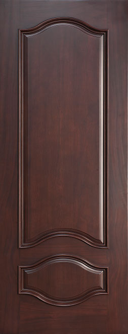 Classic Mahogany Wood Front Door - Single - DB-461 CST