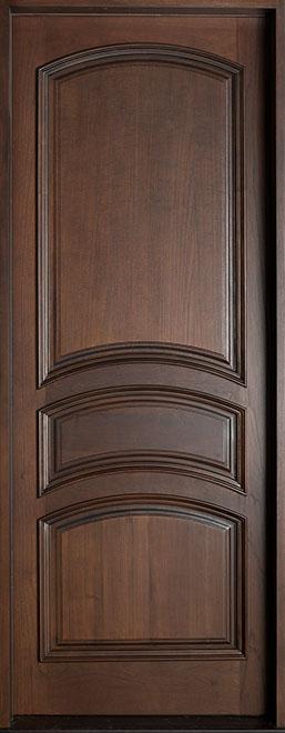 Classic Mahogany Wood Front Door - Single - DB-611A CST