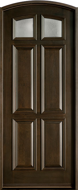 Classic Mahogany Wood Front Door - Single - DB-668 CST
