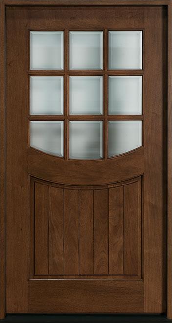 Classic Mahogany Wood Front Door - Single - DB-908 CST