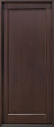 Classic Mahogany Wood Front Door  - GD-001PW CST