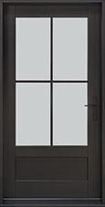 Classic Mahogany Wood Front Door  - GD-004PW CST