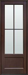 Classic Mahogany Wood Front Door  - GD-104PT CST
