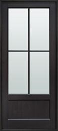 Classic Mahogany Wood Front Door  - GD-104PW CST