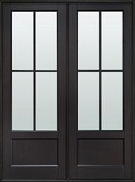 Classic Mahogany Wood Front Door  - GD-104P DD CST