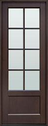 Classic Mahogany Wood Front Door  - GD-108PT CST