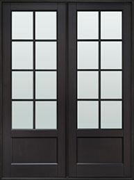 Classic Mahogany Wood Front Door  - GD-108P DD CST