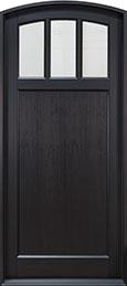 Classic Mahogany Wood Front Door  - GD-111PW CST