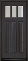 Classic Distressed in Knotty Alder Wood Front Door  - GD-115 CST