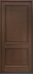 Classic Oak Wood Veneer Wood Front Door  - GD-202PW CST
