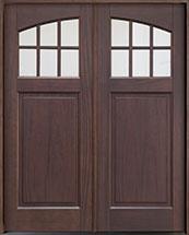 Classic Mahogany Wood Front Door  - GD-311PS DD CST