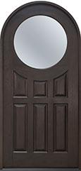 Classic Mahogany Wood Front Door  - GD-395W  CST