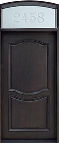 Classic Mahogany Wood Front Door  - GD-461W  CST
