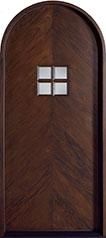 Classic Mahogany Wood Front Door  - GD-558 CST