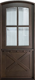 Craftsman Mahogany Wood Front Door  - GD-652W CST