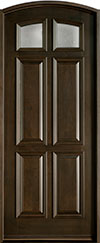 Classic Mahogany Wood Front Door  - GD-668 CST