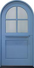 Classic Mahogany Wood Front Door  - GD-768W CST DUTCH