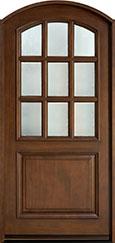 Classic Mahogany Wood Front Door  - GD-801-CST