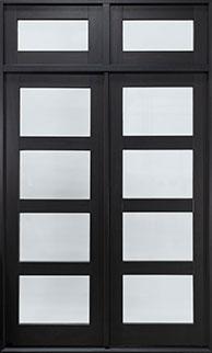 Classic Mahogany Wood Front Door  - GD-823 DD TR CST