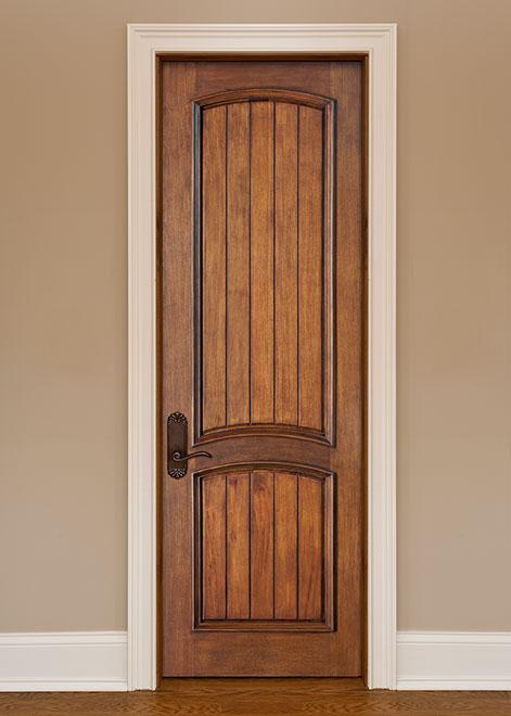 Artisan Mahogany Wood Interior Door - Single - DBI-2050VG