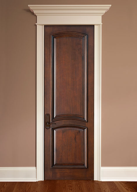 Artisan Mahogany Wood Interior Door - Single - DBI-2050