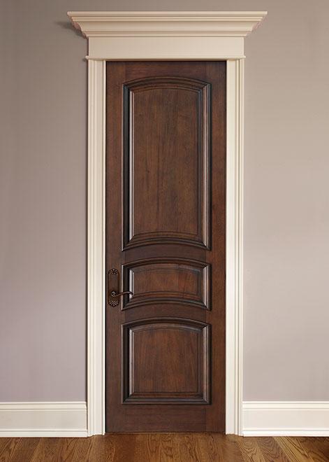 Artisan Mahogany Wood Interior Door - Single - DBI-3030R
