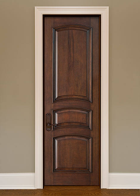 Artisan Mahogany Wood Interior Door - Single - DBI-3030