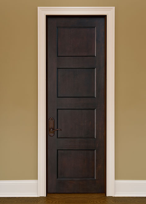 Artisan Mahogany Wood Interior Door - Single - DBI-4000
