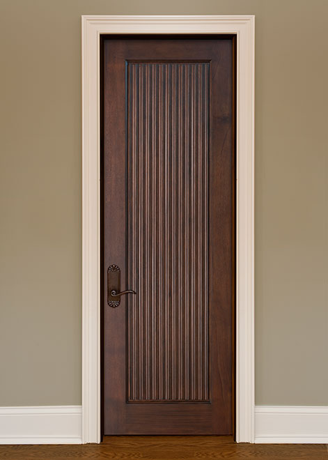 Artisan Mahogany Wood Interior Door - Single - DBI-580