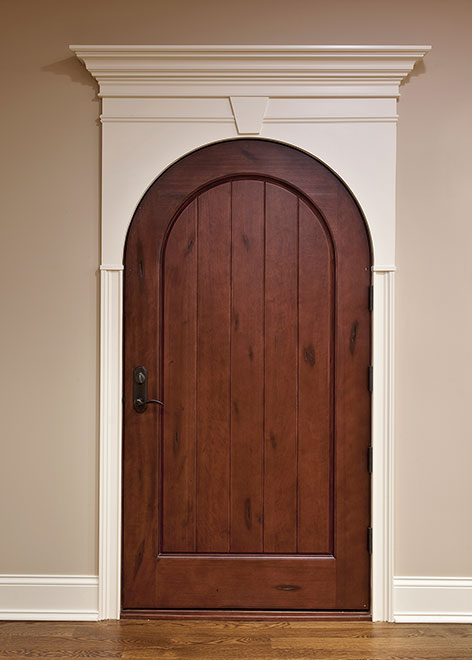 Wine-Cellar Mahogany Wood Interior Door - Single - DBI-123