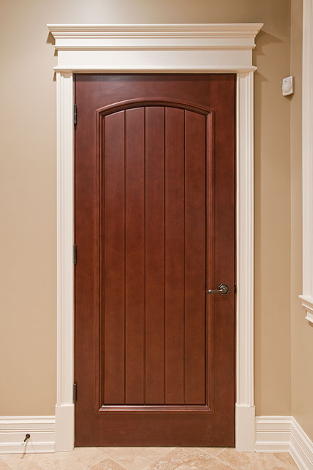 Classic Mahogany Wood Interior Door - Single - DBI-501