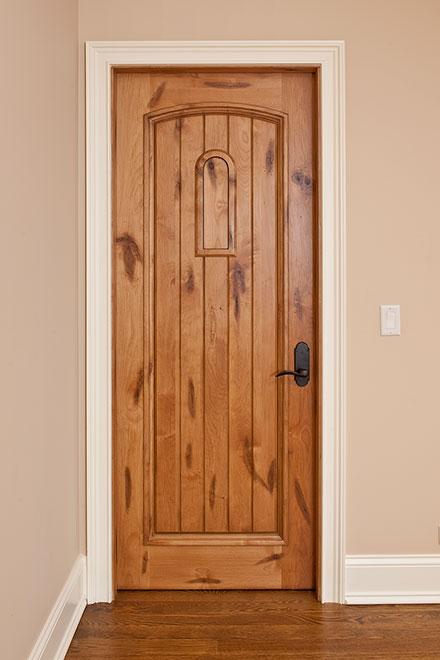 Classic Knotty Alder Wood Interior Door - Single - DBI-501 SE