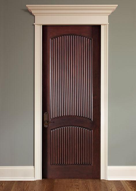 Classic Mahogany Wood Interior Door - Single - DBI-580A