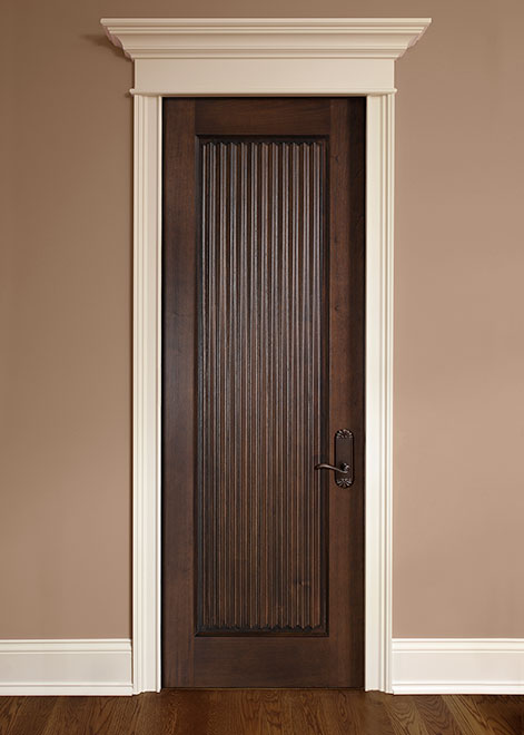 Classic Mahogany Wood Interior Door - Single - DBI-580