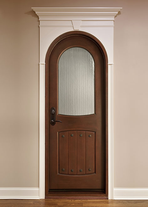 Wine-Cellar Mahogany Wood Interior Door - Single - DBI-595G