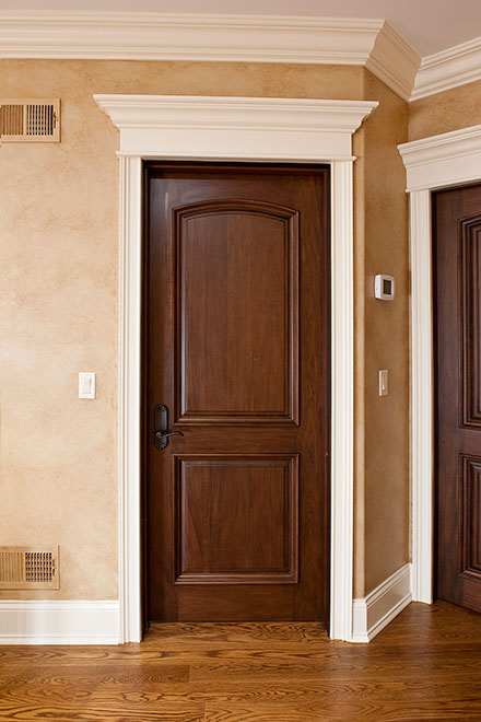 Classic Mahogany Wood Interior Door - Single - DBI-701A
