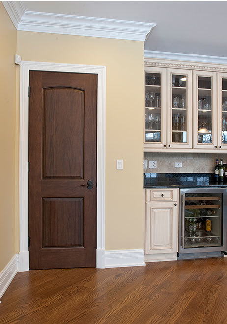 Classic Mahogany Wood Interior Door - Single - DBI-701C