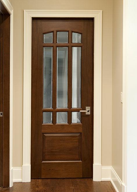 Classic Mahogany Wood Interior Door - Single - DBI-701G