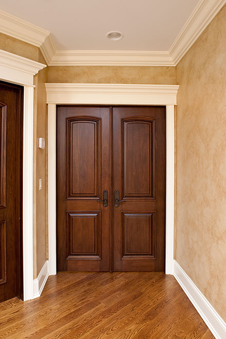 Classic Mahogany Wood Interior Door - Double - DBI-701 DD