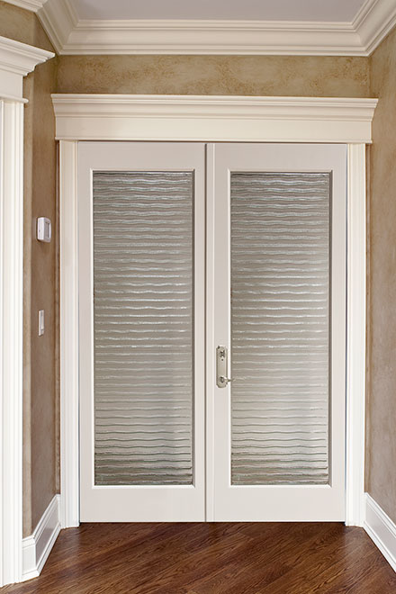 Classic Mahogany Wood Interior Door - Double - DBI-A-001 DD
