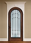 Stain Grade Solid Wood Wine Cellar Interior Doors