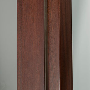 Stain Grade Jamb - True Rabbeted Jamb with Rubber Strip