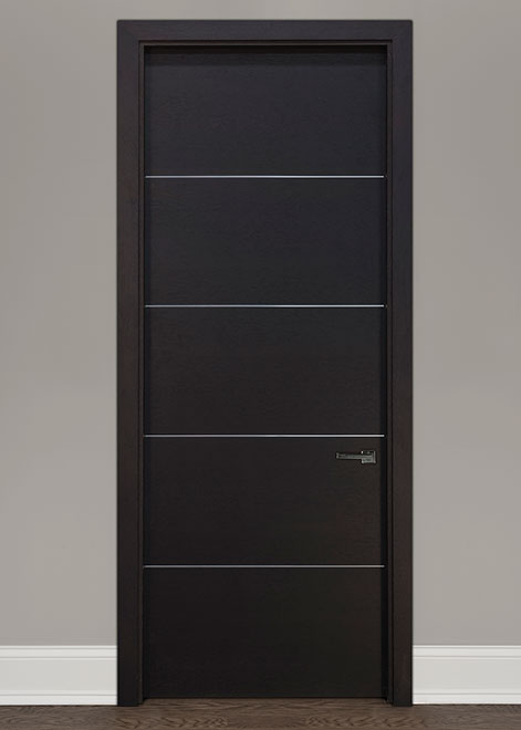 Modern Oak (Rift Cut) Wood Interior Door - Single - DBIM-AL8005
