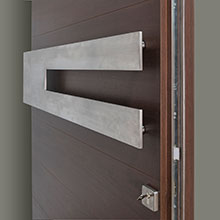 EMD-A4W_CST_Mahogany-Walnut - Solid Wood Front Door