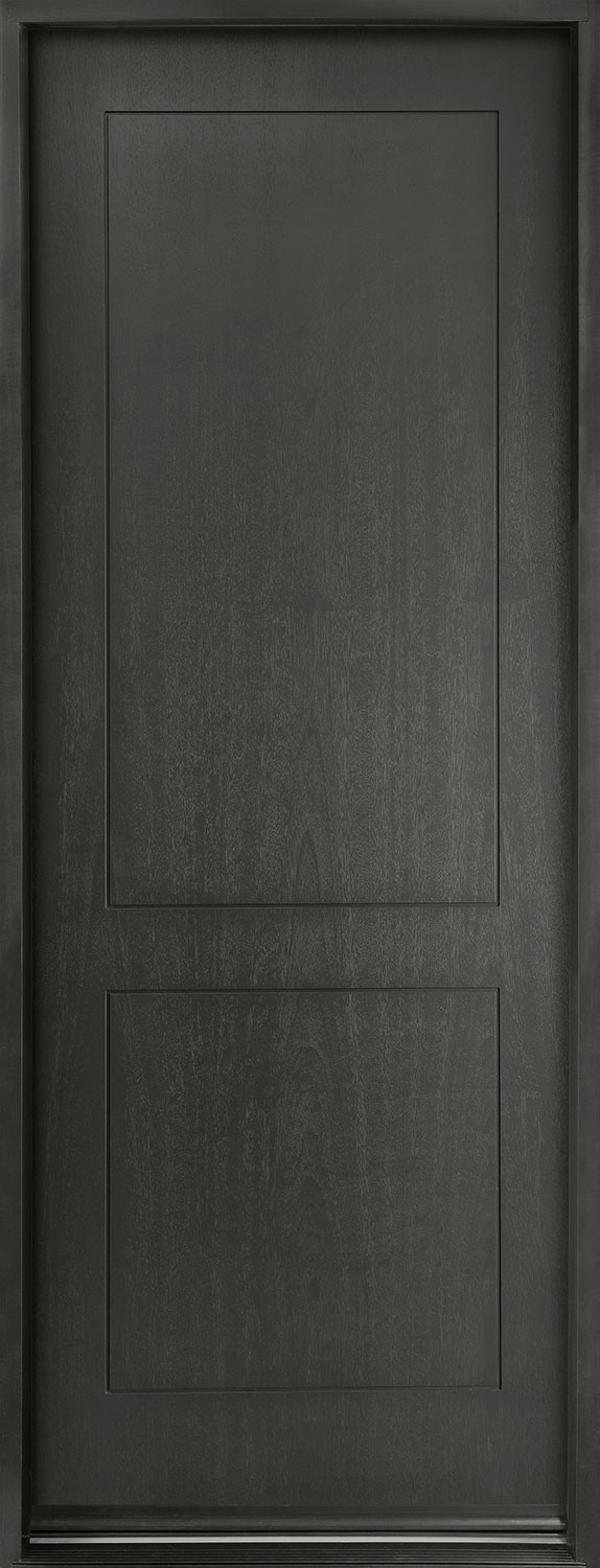 Modern Euro Collection Mahogany Wood Veneer Wood Front Door  - GD-EMD-200T