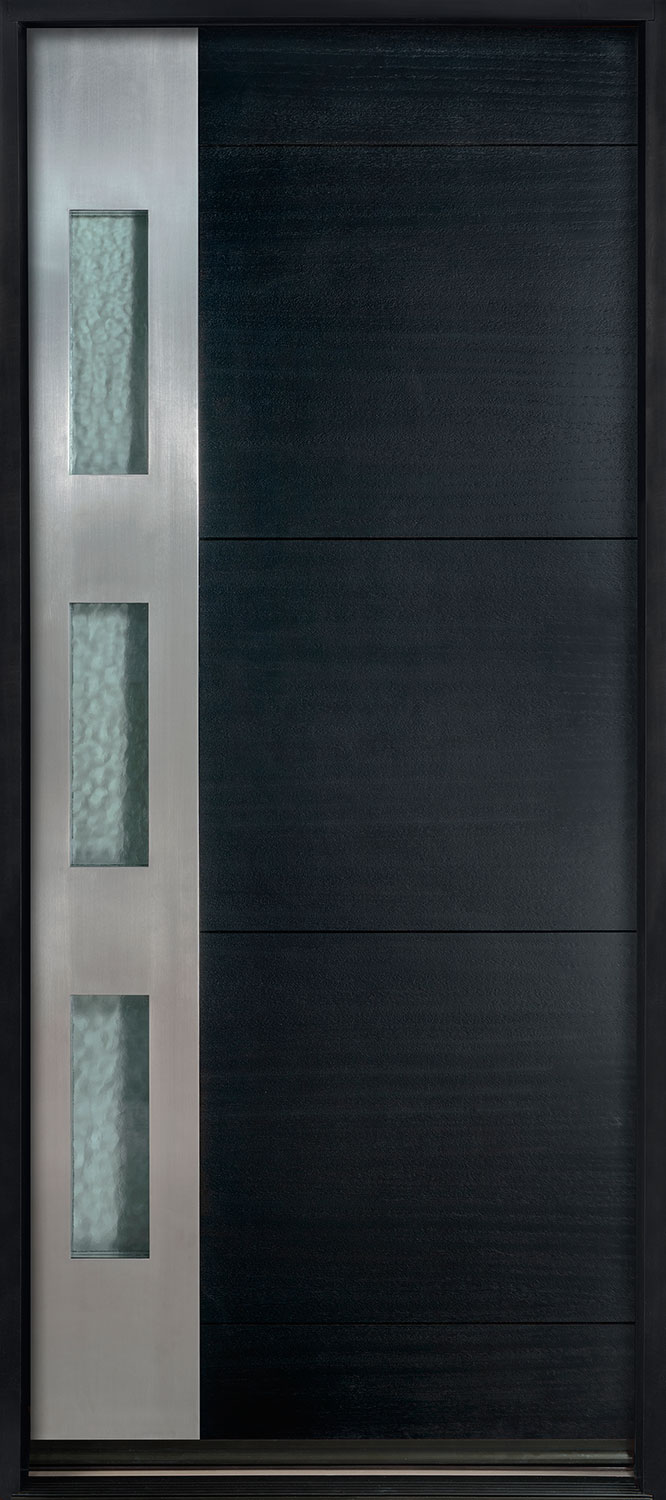 Wood Entry Door - Single