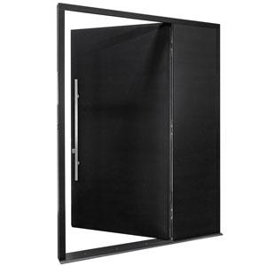 DB-EMD-A1_SLS_CST_Mahogany-Espresso - Solid Wood Front Door Close-up 0